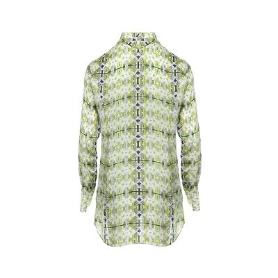 unique pattern shirt green